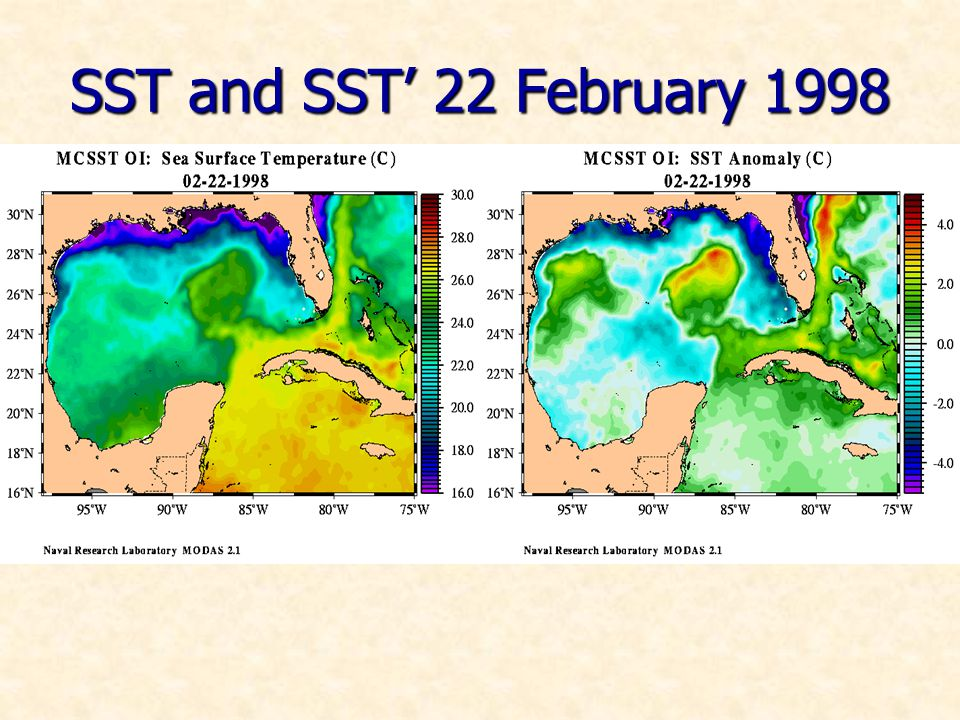 SST and SST 22 February 1998