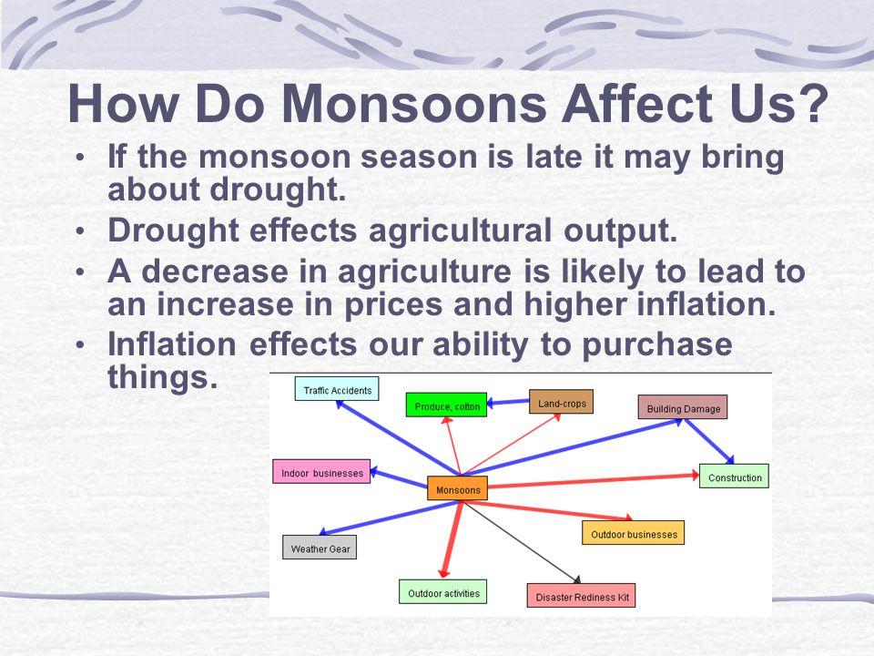 Where do Monsoons Occur.
