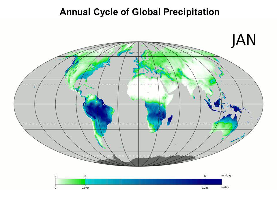 Annual Cycle of Global Precipitation