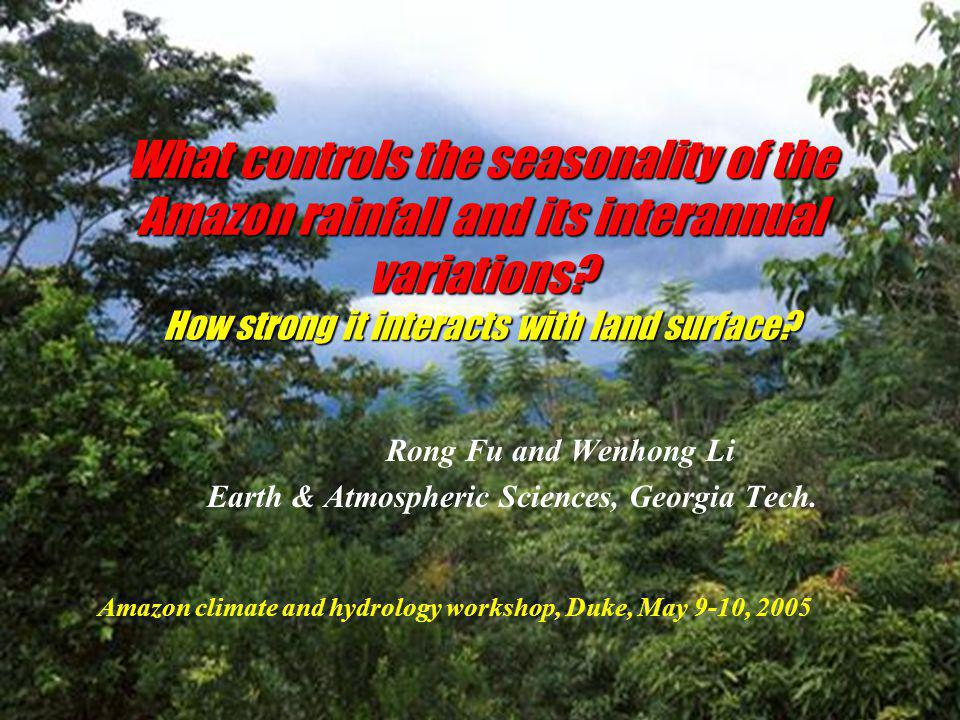 What is the role of cold front incursions.