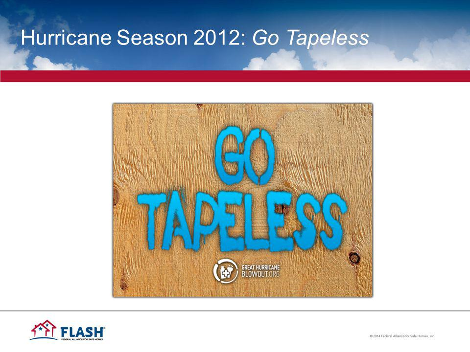 Hurricane Season 2012: Go Tapeless