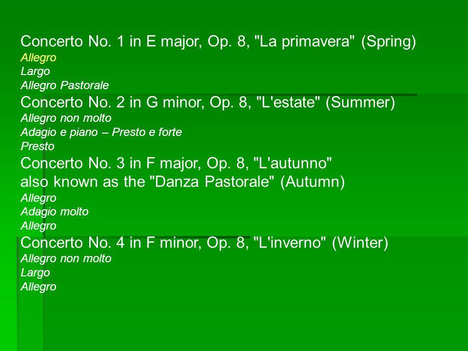 Concerto No.1 in E major, Op.