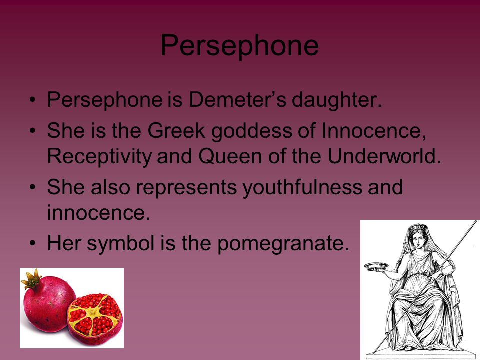 The Story When Persephone was younger, Hades set a the trap of an irresistible cosmic flower that he could use to capture her.