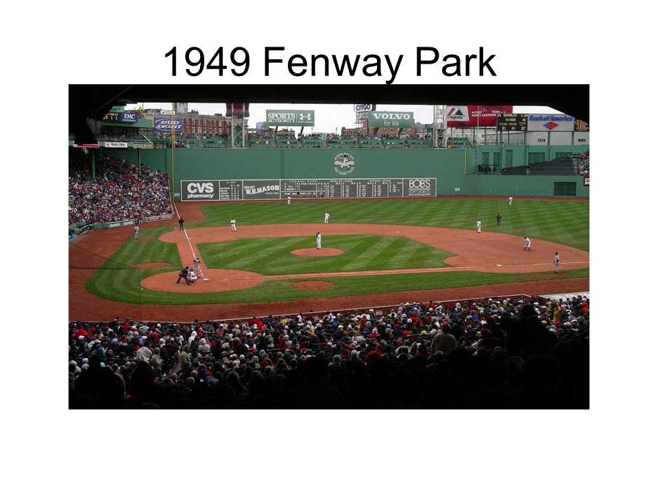 1949 Fenway Park