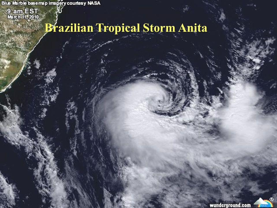 Brazilian Tropical Storm Anita