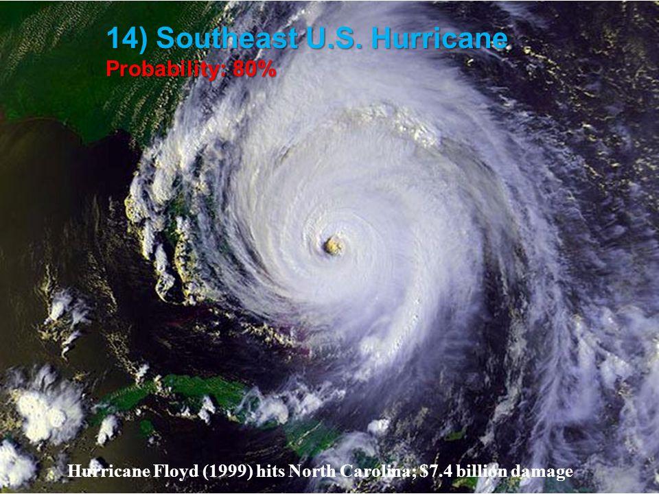 14) Southeast U.S.