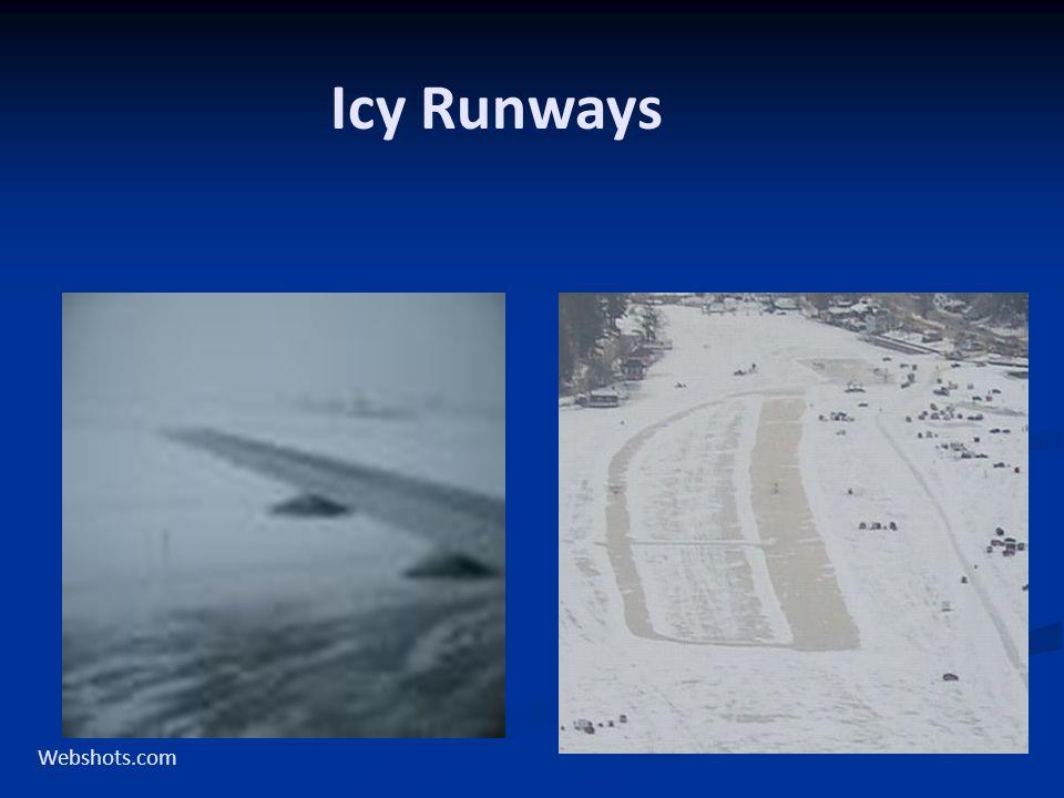Icy Runways Webshots.com