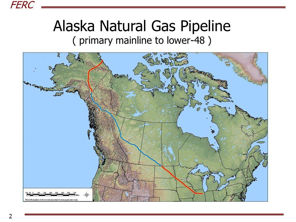 FERC 2 Alaska Natural Gas Pipeline ( primary mainline to lower-48 )