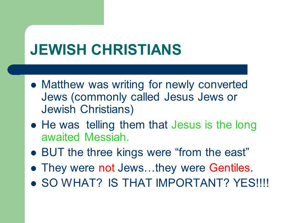 Jesus came for ALL people and not just the Jews This is what is being manifest or shown in the story