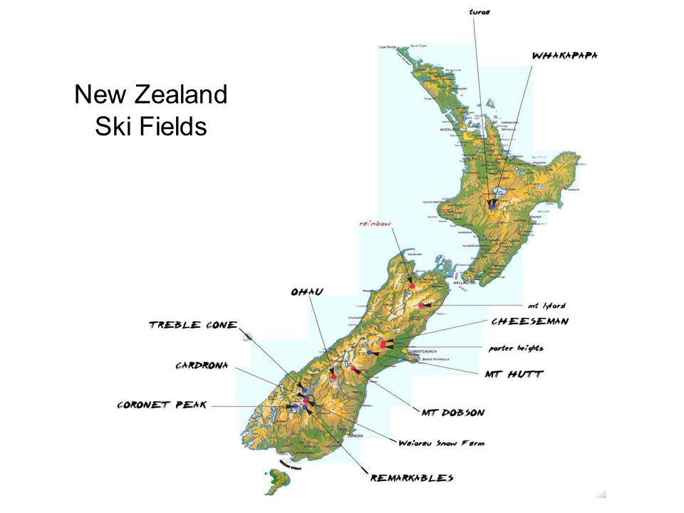 New Zealand Ski Fields