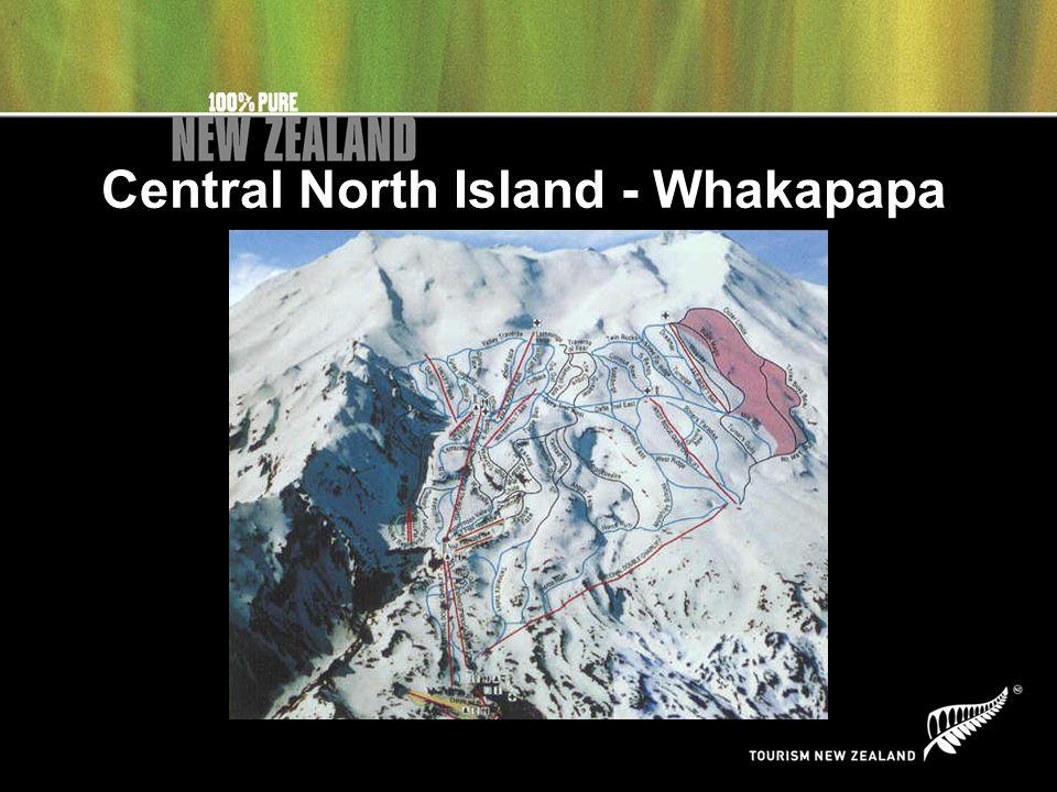 Central North Island - Whakapapa