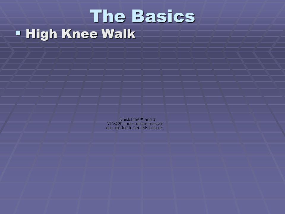 The Basics High Knee Walk High Knee Walk