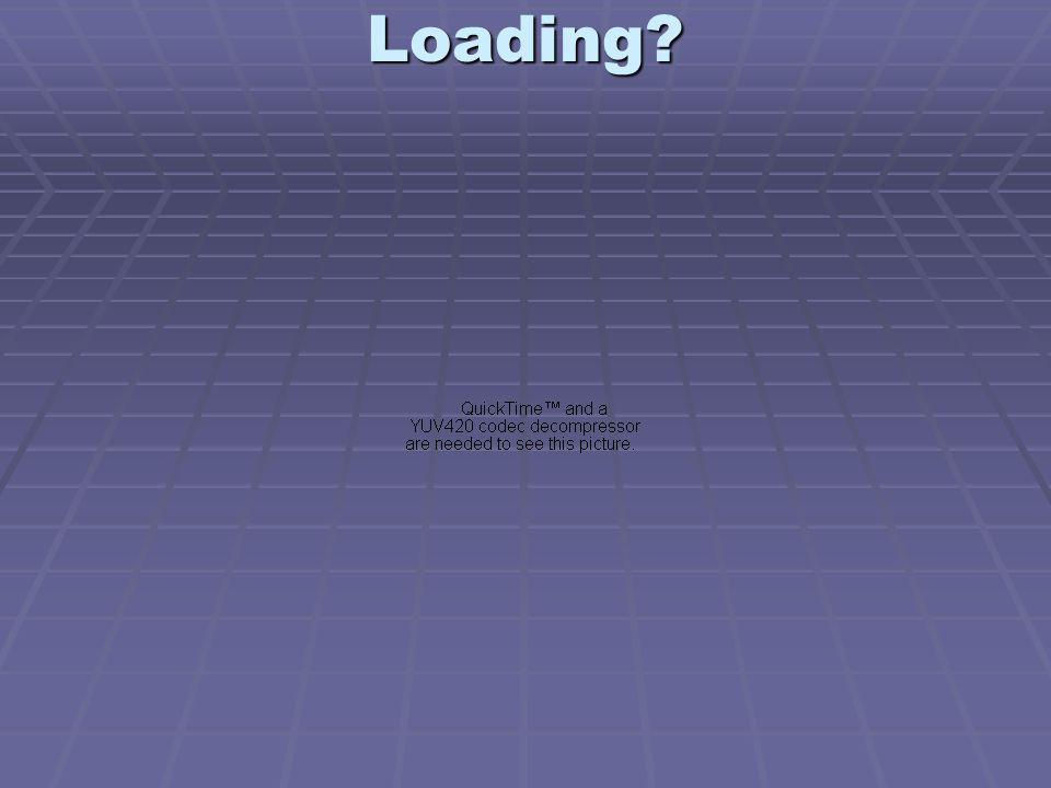 Loading?