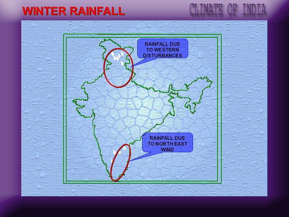 Ganga Delta Northern Plain WIND DIRECTION- WINTER Tropical cyclone
