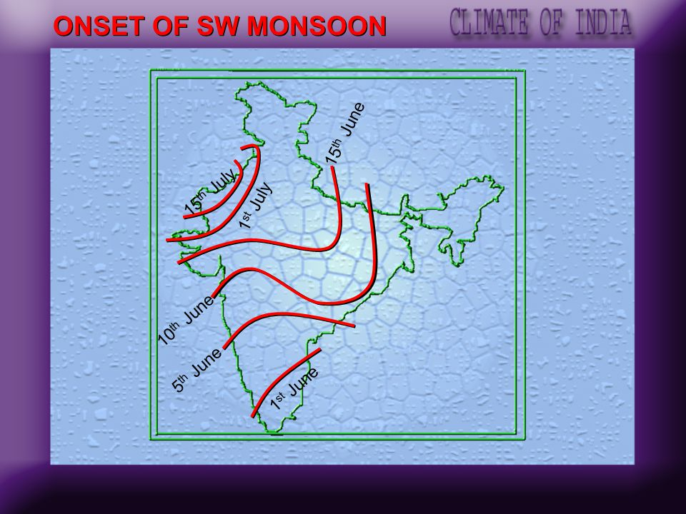 EQUATOR MONSOON WIND SE Trade Arabian sea Branch Bay of Bengal Branch