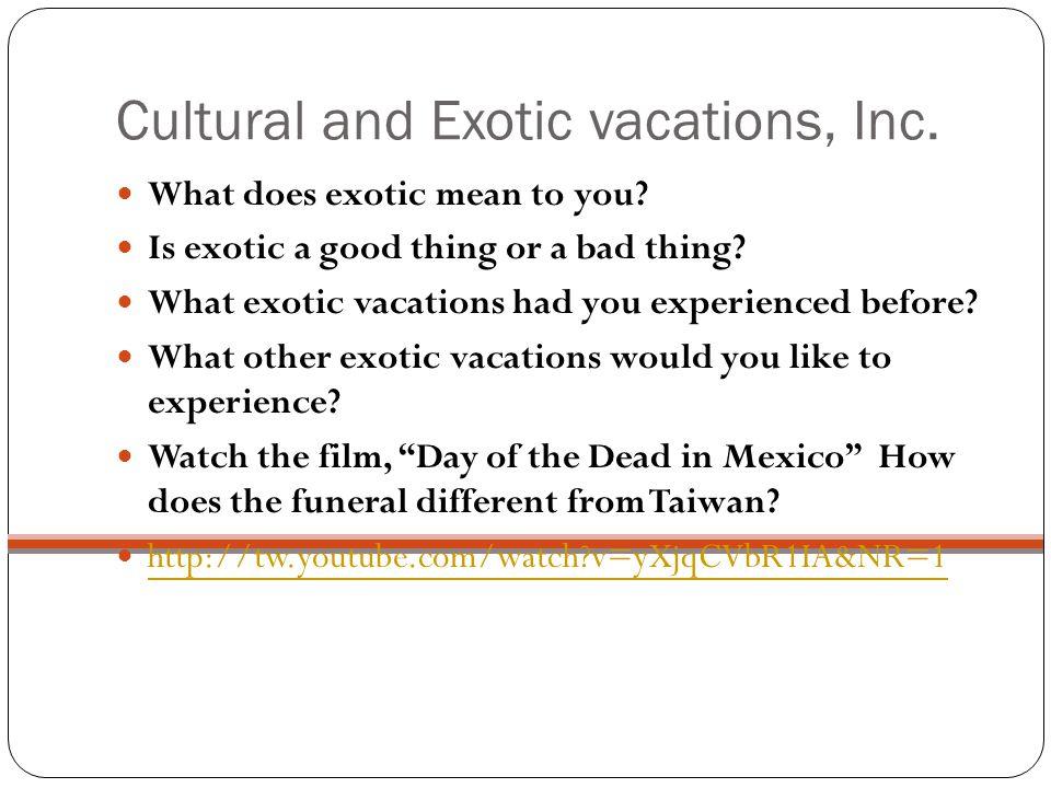 New trend Medical tourism Educational tourism Celebration tourism Babymoon Meaningful tourism Cultural tourism