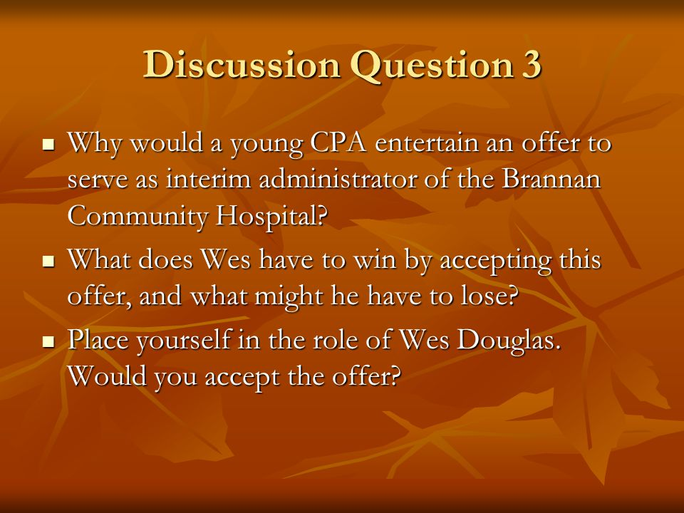 Discussion Question 2 Why did this happen, and what can an administrative person learn from this experience? Why did this happen, and what can an admi
