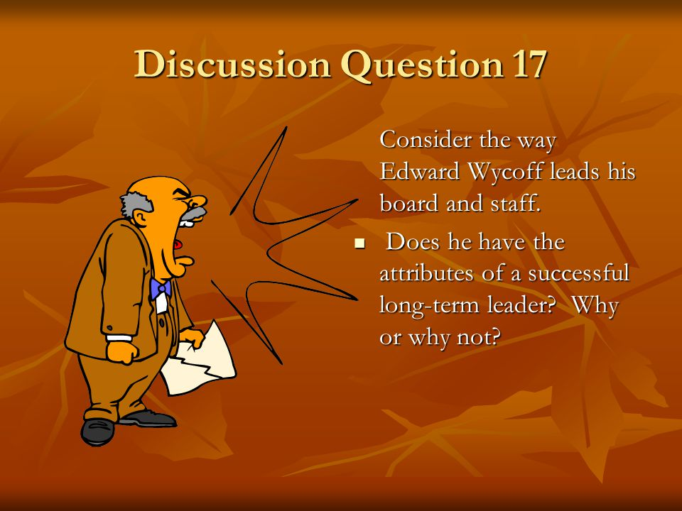 Discussion Question 16 Roger Selman argued that it was justifiable to sign a contract with the Mountainlands Insurance Company at a price that was low