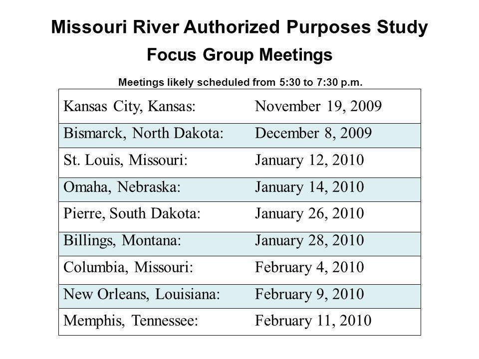 Kansas City, Kansas:November 19, 2009 Bismarck, North Dakota: December 8, 2009 St.