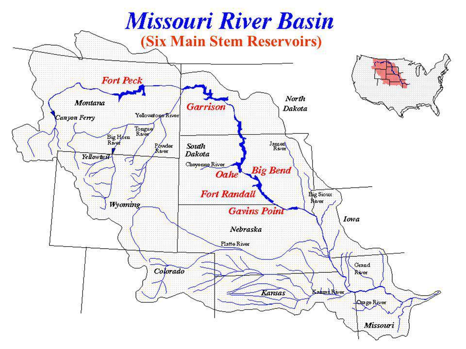 (Six Main Stem Reservoirs)