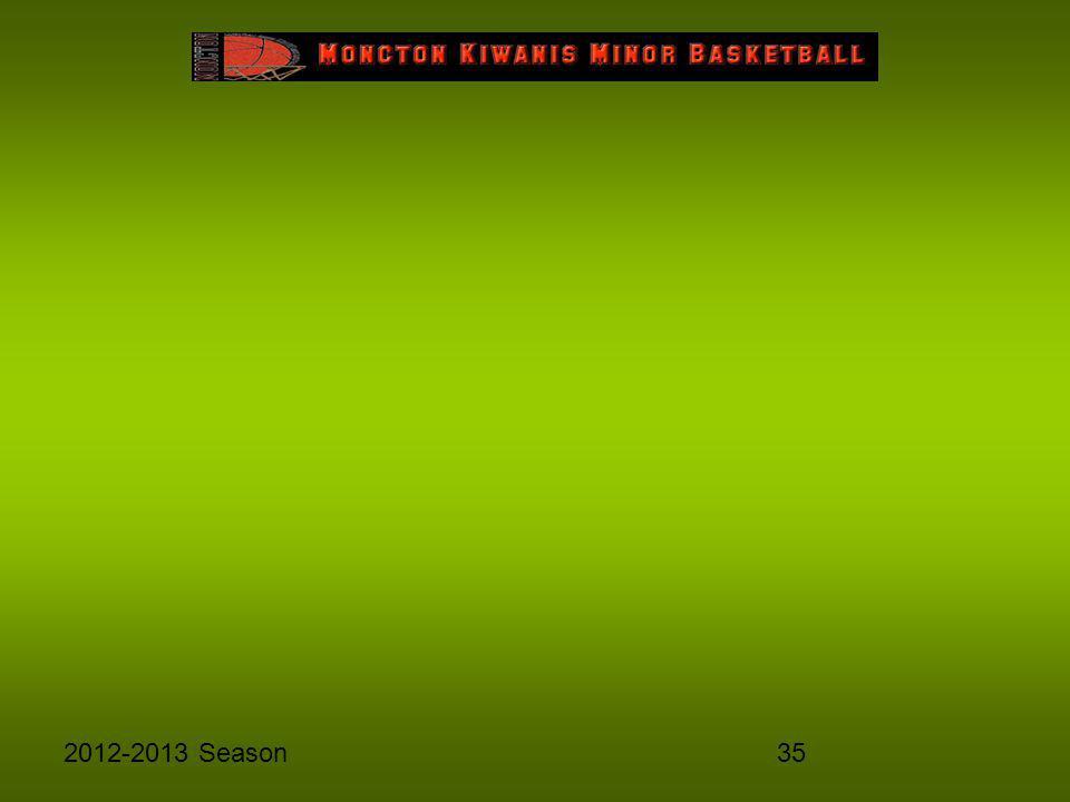 352012-2013 Season