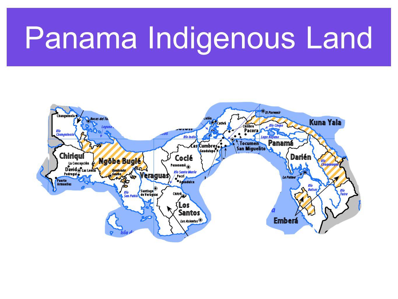 Panama Indigenous Land