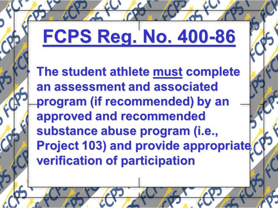 FCPS Reg. No.