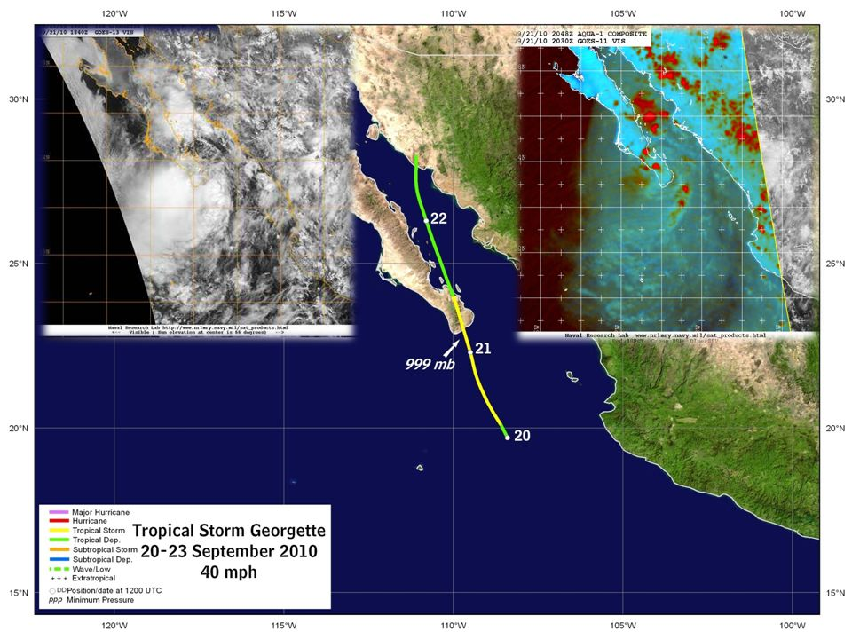 Tropical Storm Georgette