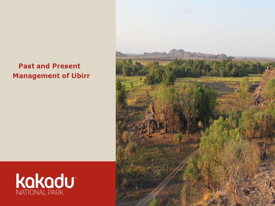 Image Caption, 11pts Verdana Past and Present Management of Ubirr