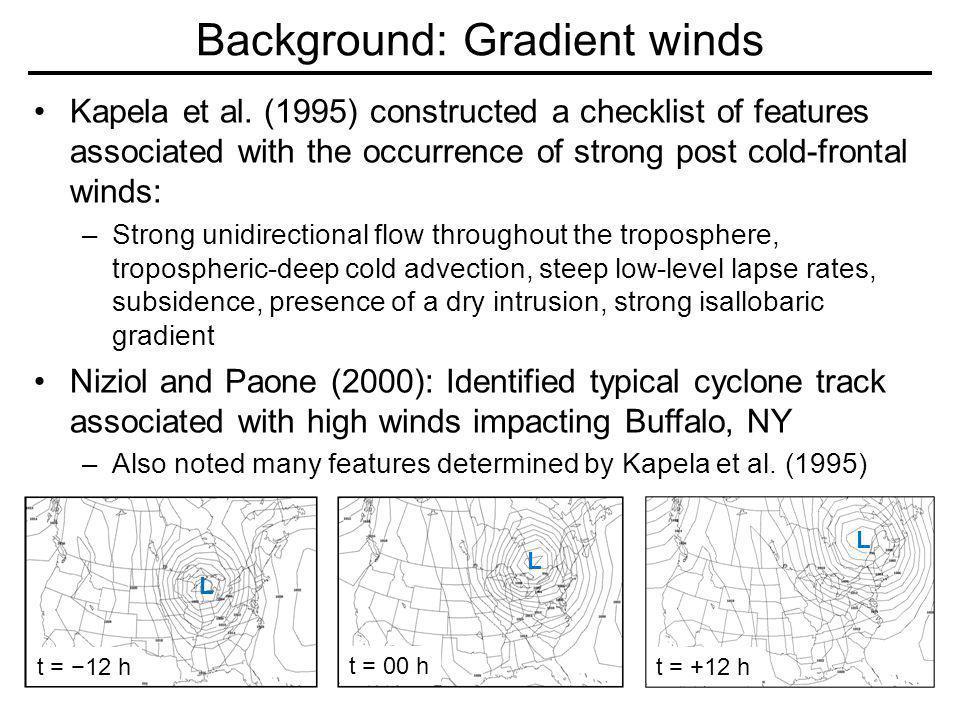 17 Feb 2006: Radar/Surface Obs 17 FEB 06: 18 Z t = +12 h Gradient Thunderstorm Lightning