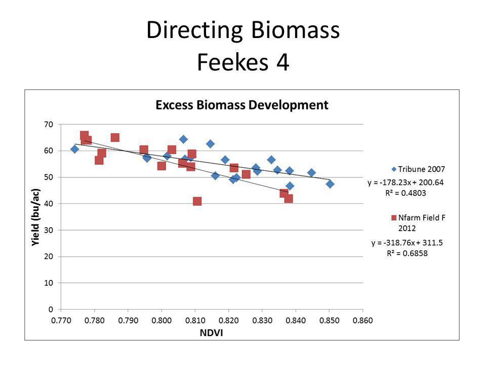Directing Biomass Feekes 4