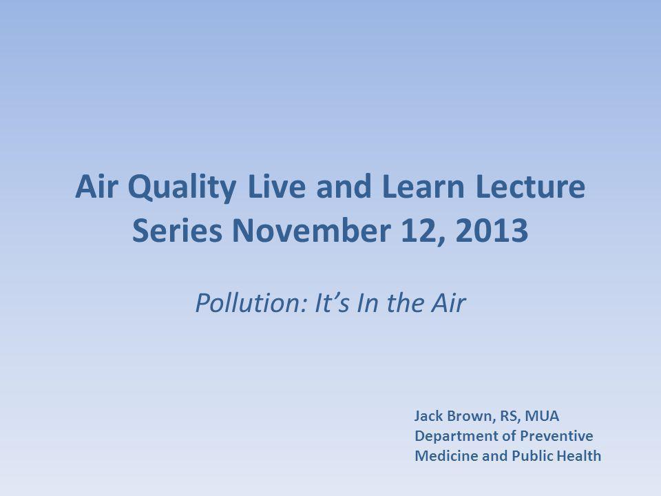 Air Quality in Wichita Metro Area