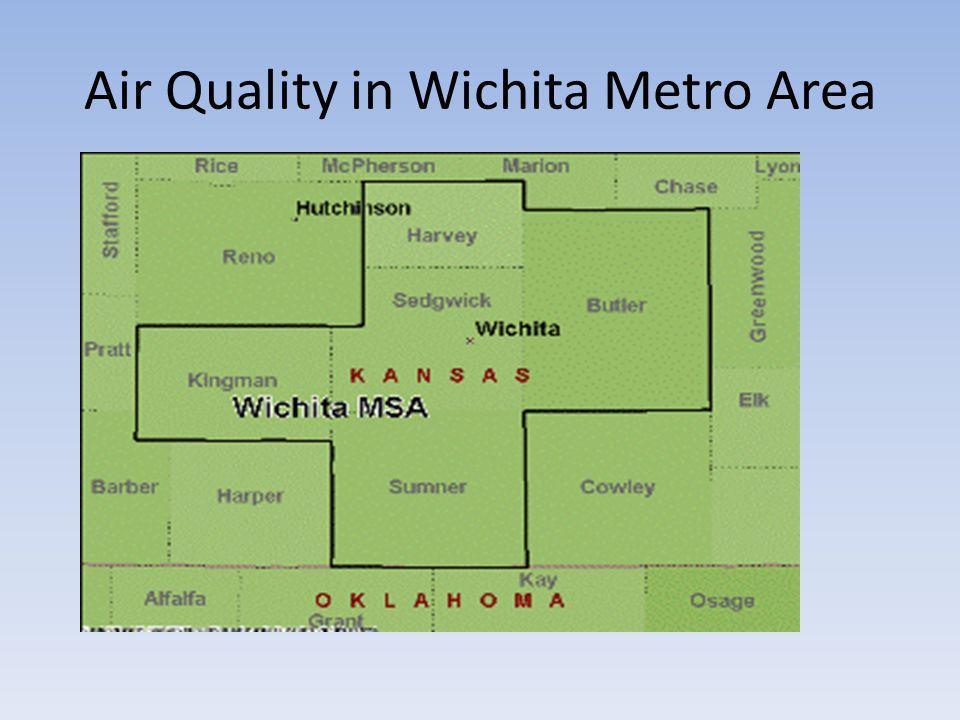 Regional impact MSA Community Patterns 7 County Area: Sedgwick, Harvey, Butler, Cowley, Sumner and Kingman.