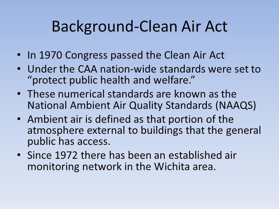 Air monitoring network