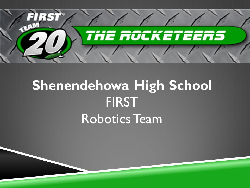 Shenendehowa High School FIRST Robotics Team