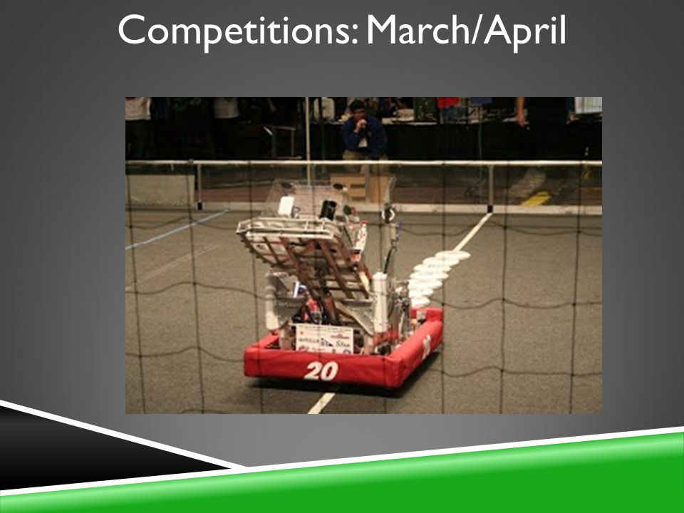 Competitions: March/April