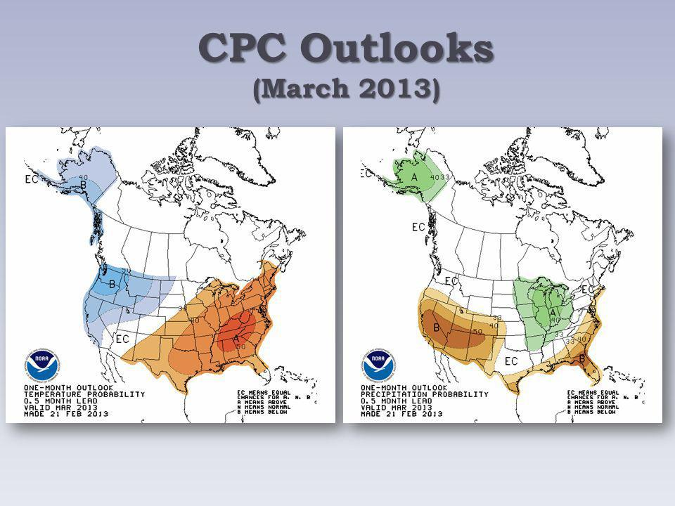 CPC Outlooks (March 2013)