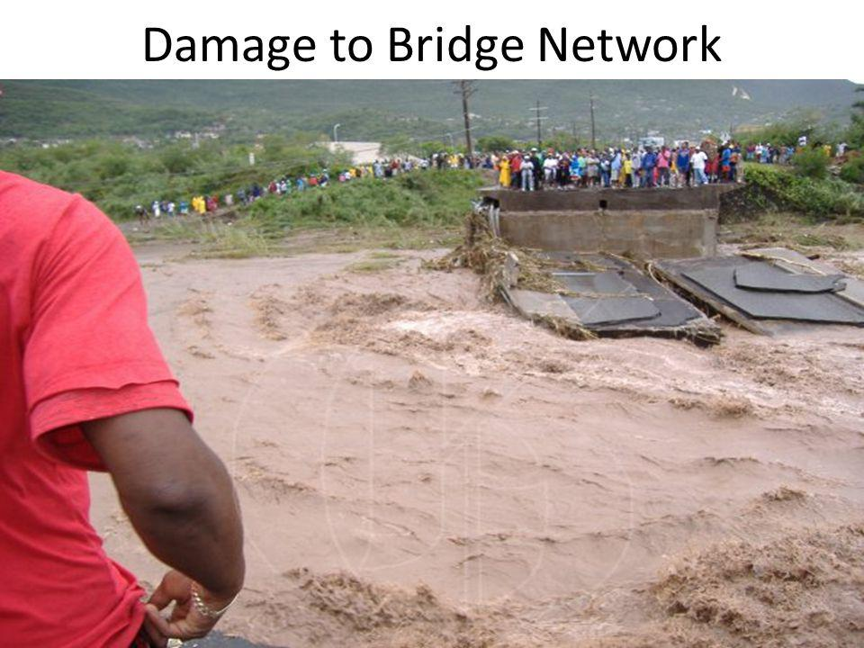 Damage to Bridge Network