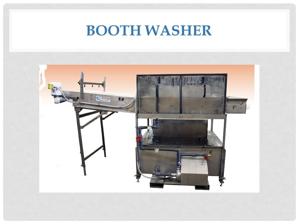 BOOTH WASHER
