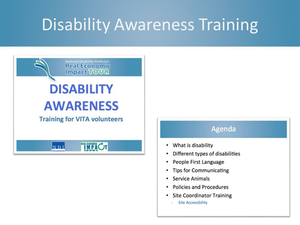 Disability Awareness Training