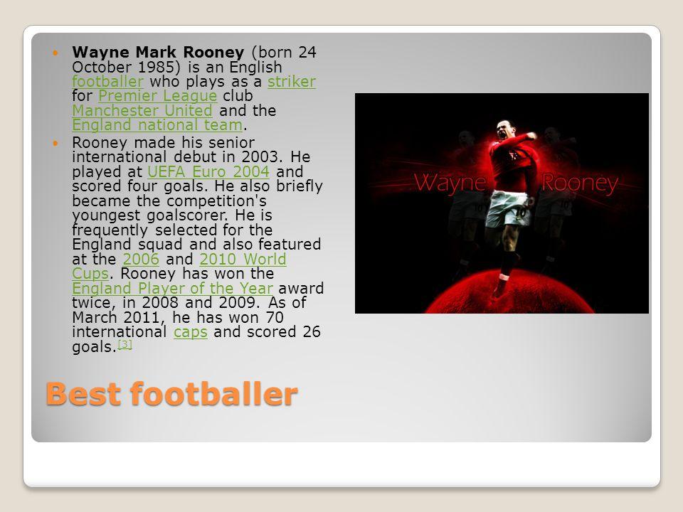 Wayne rooney By Matthew torpey and Tom mcleish