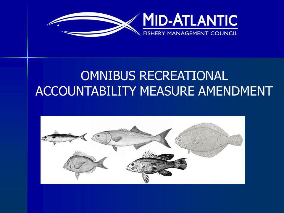 OMNIBUS RECREATIONAL ACCOUNTABILITY MEASURE AMENDMENT