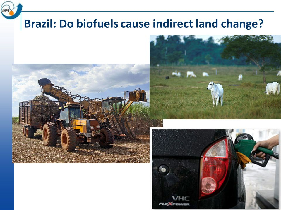 Brazil: Do biofuels cause indirect land change?