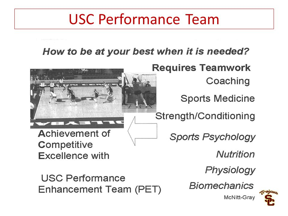 USC Performance Team