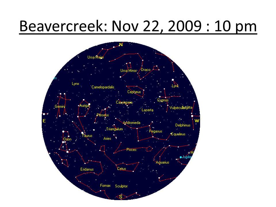 Beavercreek: Nov 22, 2009 : 10 pm