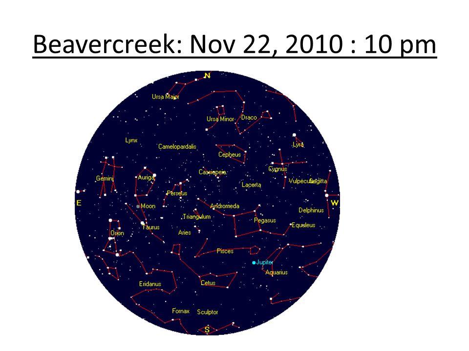 Beavercreek: Nov 22, 2010 : 10 pm