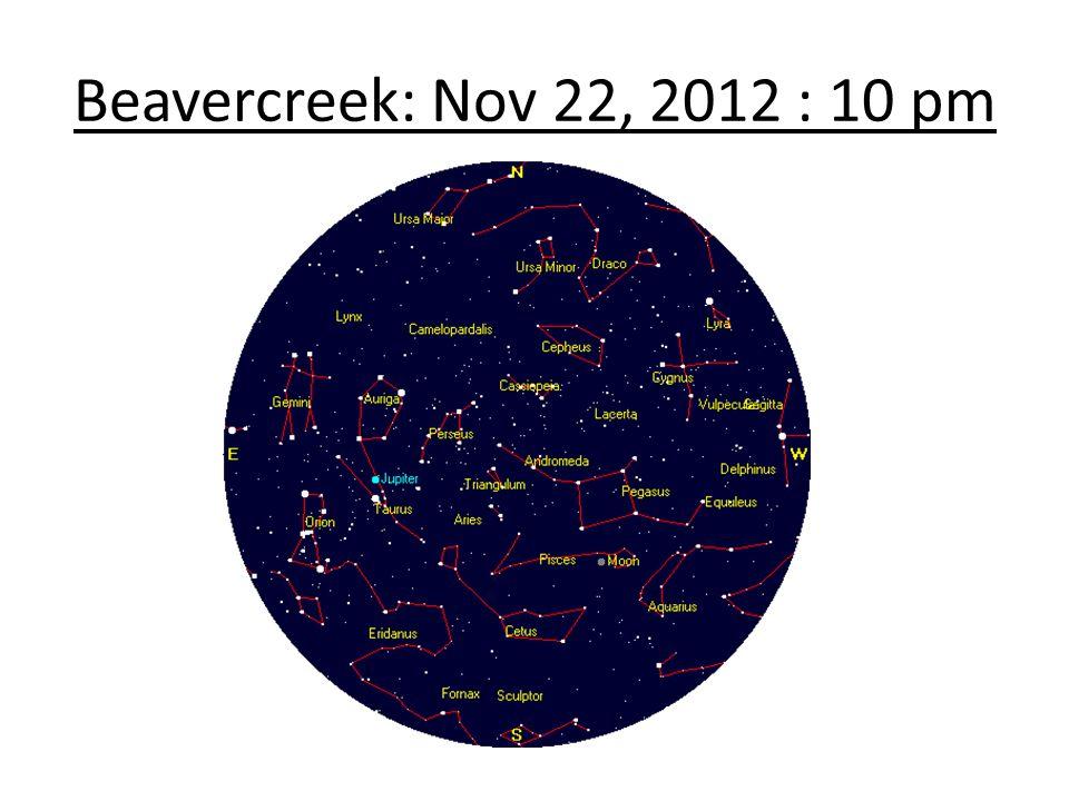 Beavercreek: Nov 22, 2012 : 10 pm