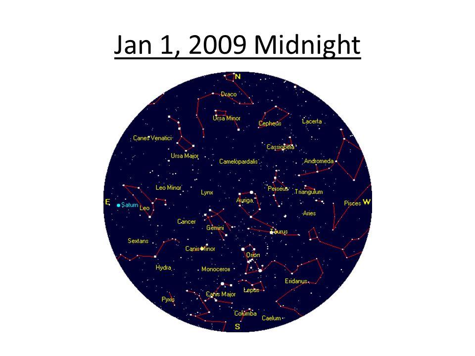 Jan 1, 2009 Midnight