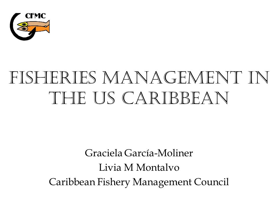 Timeline Summary of Regulations CFMC Fishery Management Plans (FMP) (color boxes) All regulations (PR and USVI state regulations and federal regulations included) Following slides are presented by FMP Refer to SEDAR SP3-08 document for years of implementation and complete summary