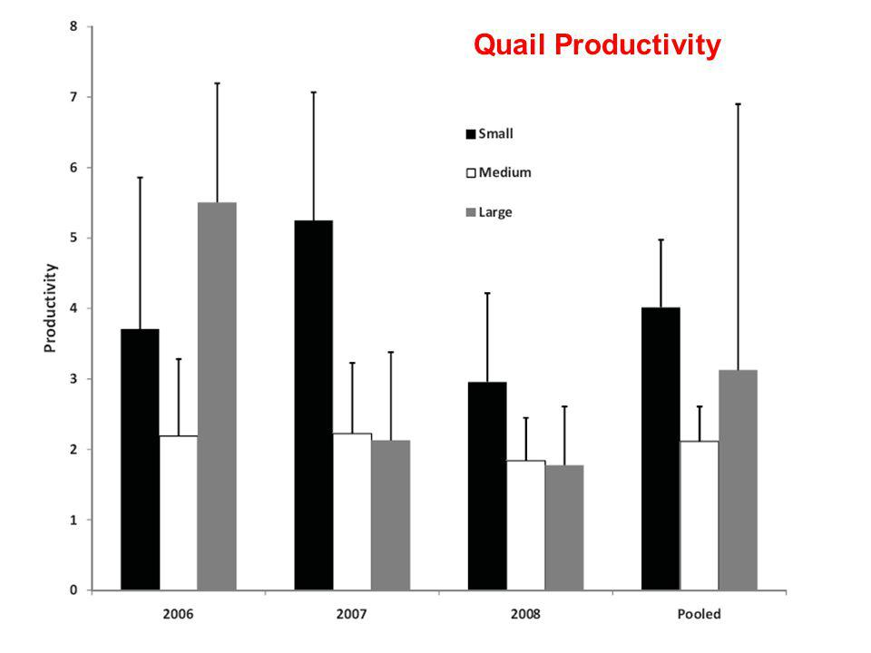 Quail Productivity